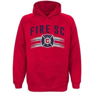 Chicago Fire MLS Soccer Hoodie Youth Boys M 10-12